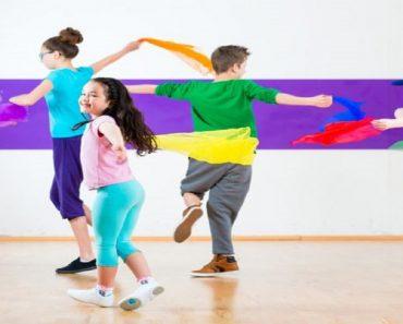 Crianças que dançam são mais felizes