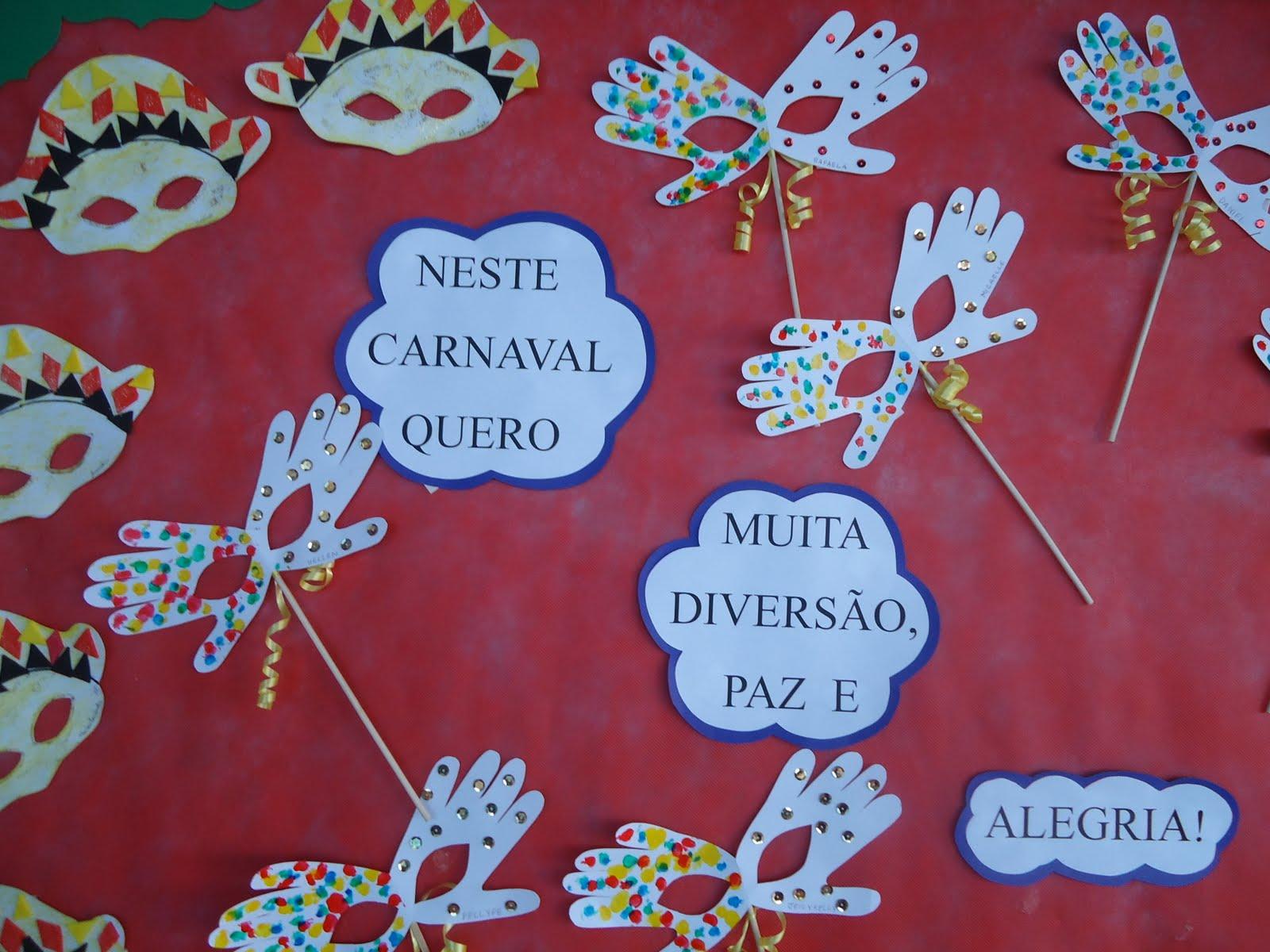 Decoração de carnaval para escola