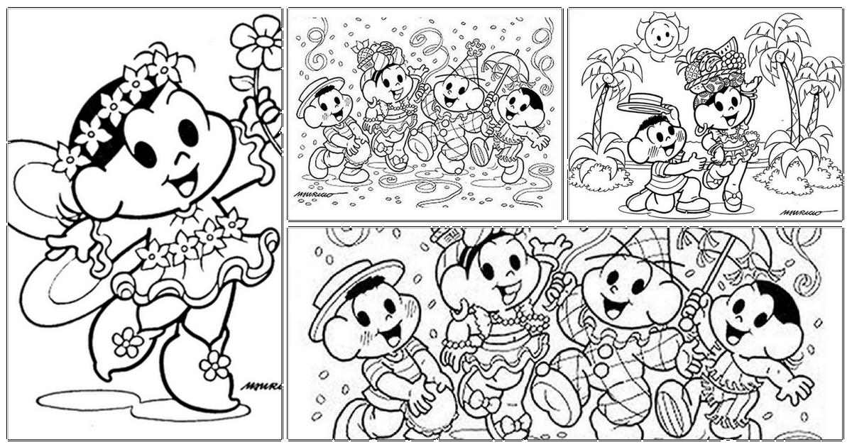 Desenhos Para Colorir De Carnaval E Imprimir Só Escola
