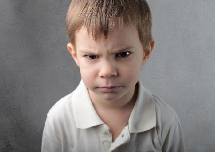 O mau humor em crianças é um sinal de inteligência