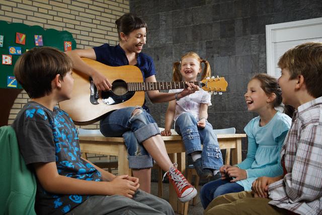A música tem forte ligação com a brincadeira
