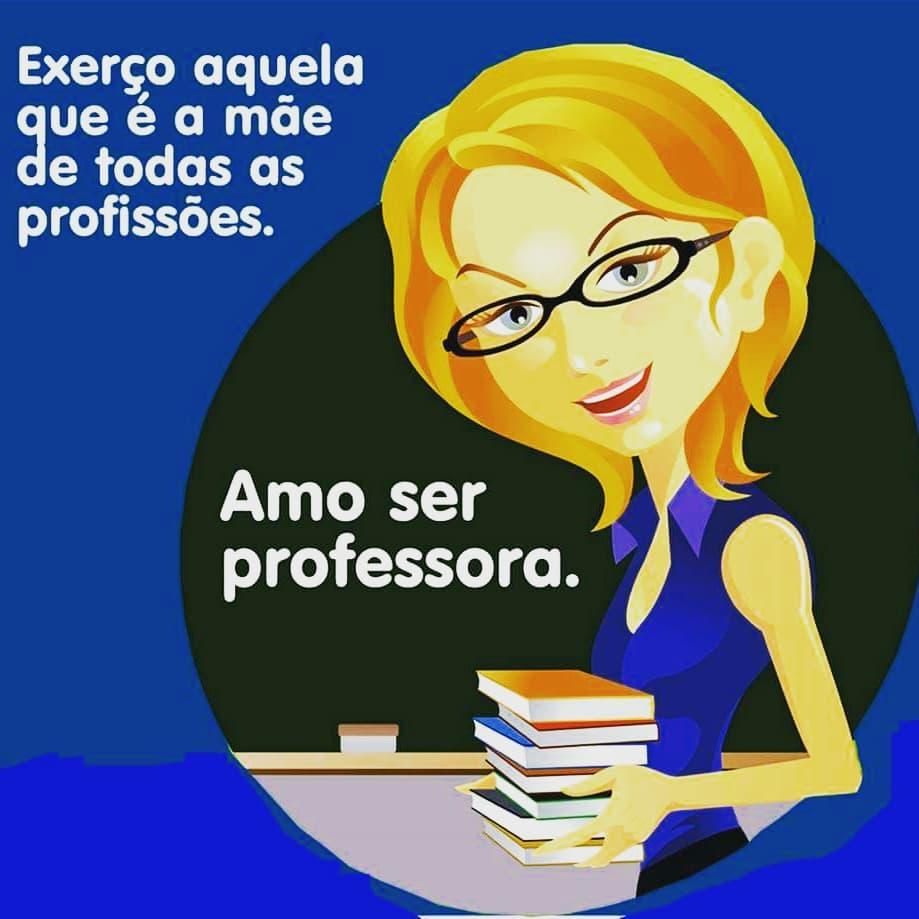 Amo ser professora
