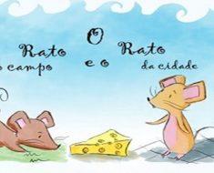 Atividades com a fábula O rato da cidade e o rato do campo