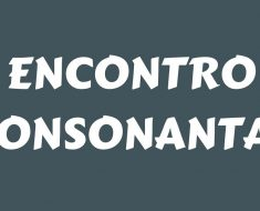 Atividades sobre Encontro Consonantal