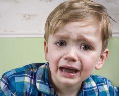 Chorar é bom para a felicidade das crianças
