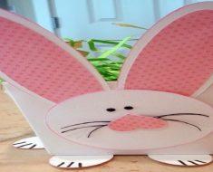 Lembrancinha caixa de coelho para Páscoa