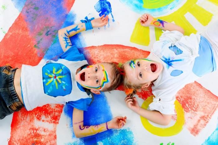 Os benefícios de Colorir para crianças