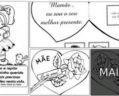 11 Cartões para o Dia das Mães
