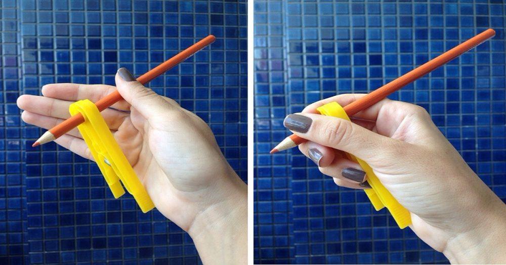 A importância do movimento de pinça para a escrita