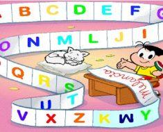 Alfabeto da Turma da Mônica