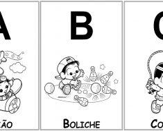 Alfabeto Ilustrado da Turma da Mônica