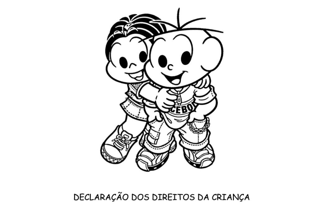 Declaração dos direitos da criança da Turma da Mônica