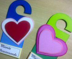 Lembrancinha para o Dia das Mães de Coração
