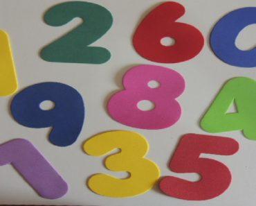 Plano de Aula Números para Educação Infantil