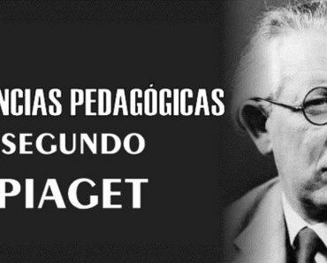 Tendencias Pedagógicas segundo Piaget