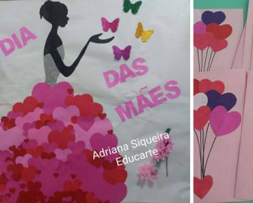 3 Ideias de artes com coração para o Dia das Mães