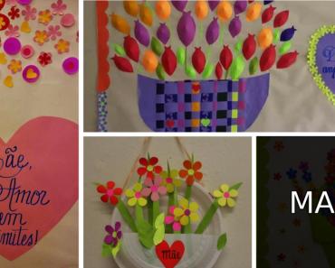 6 Ideias para Murais Dia das Mães