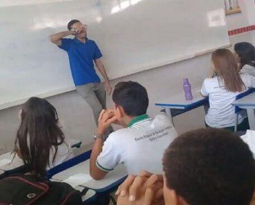 Alunos de escola pública fazem rifa para ajudar professor com salário atrasado