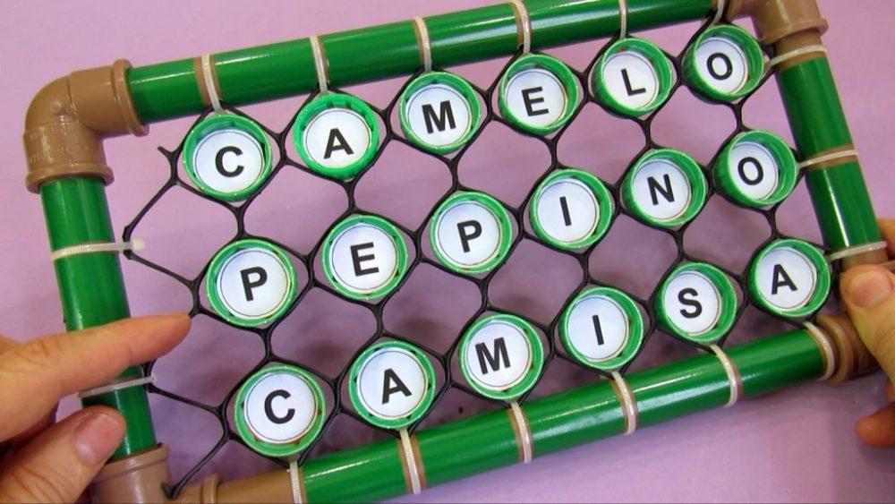 Bingo Reciclado para a formação de palavras
