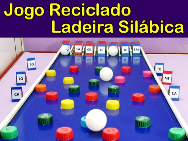 Jogo Ladeira Silábica