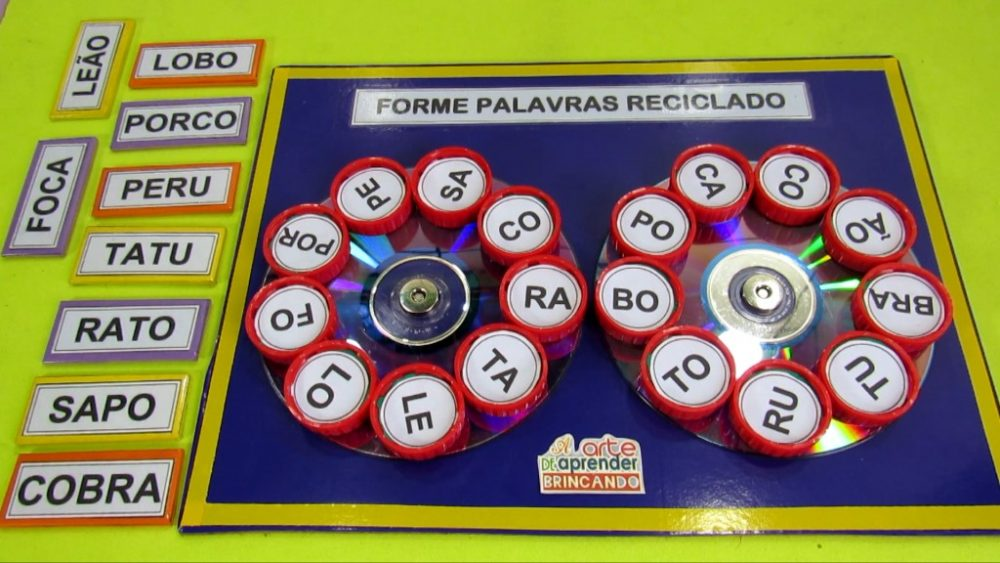 Material Lúdico para Alfabetização