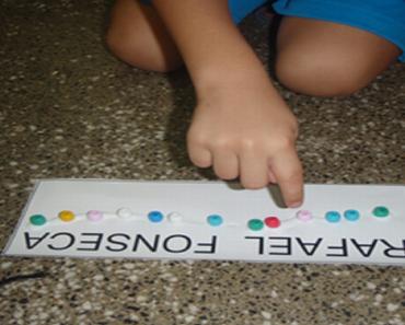Plano de aula Bingo dos nomes das crianças