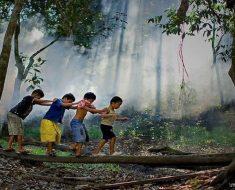 Por que a criança precisa brincar ao ar livre?