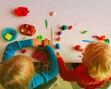 Seis boas razões para as crianças brincarem com massinha