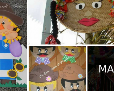 10 Ideias para festas juninas para escola infantil