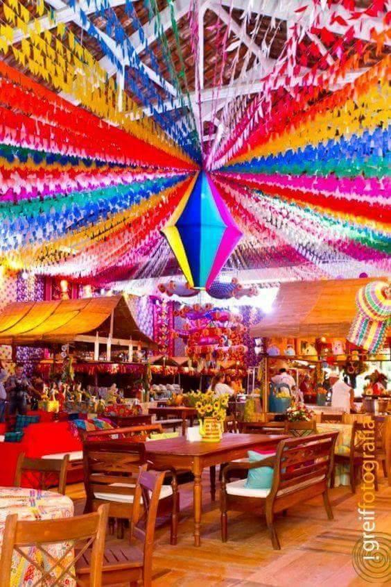 18 Ideias para festas juninas para escola infantil u2014 SÓ ESCOLA -> Decoração De Balões Festa Junina