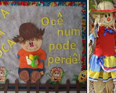 18 Ideias para festas juninas para escola infantil
