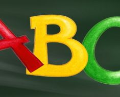 Atividades para trabalhar as letras do alfabeto