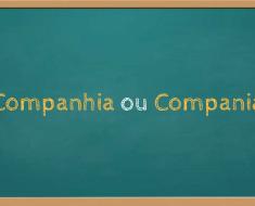 Compania ou companhia