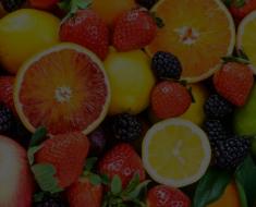 Fruta com A