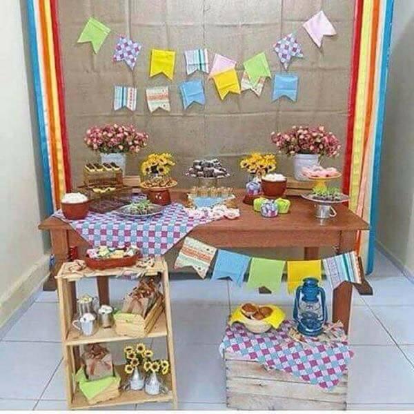 Ideias para festas juninas na escola u2014 SÓ ESCOLA -> Ideias Para Decoração De Festa Junina Simples