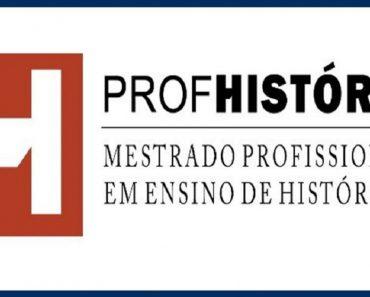 Edital com 482 vagas do Mestrado Profissional em Ensino de História