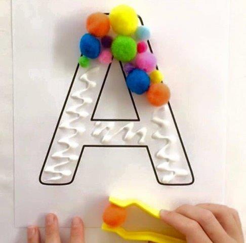 Ideias de Atividades para trabalhar as letras do alfabeto