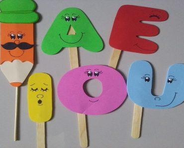 Atividades das vogais