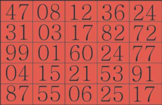 Cartela do Jogo Bingo Aritmético para imprimir
