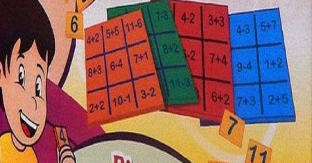 Jogo Bingo Aritmético