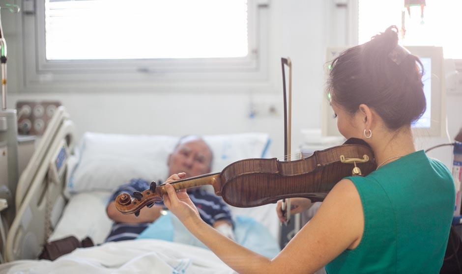 O efeito da música na dor