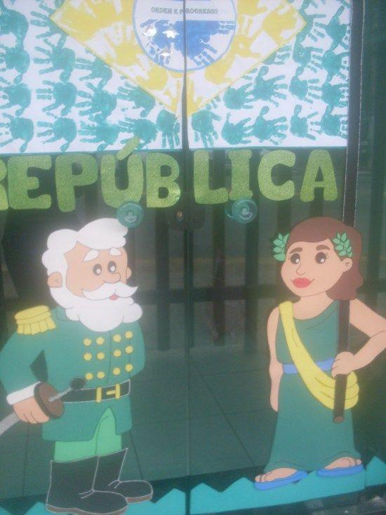 7 Ideias de Painel Proclamação da Republica