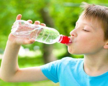 A água pode acalmar a ansiedade das crianças