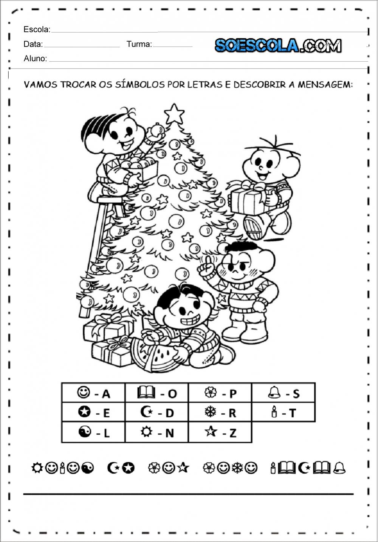 5 Atividades de Natal para imprimir