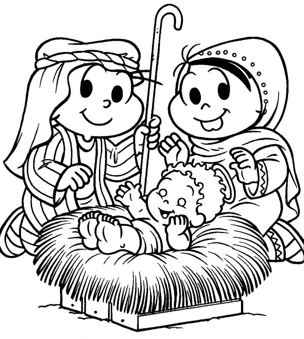 Desenhos De Natal Da Turma Da Mônica Para Imprimir