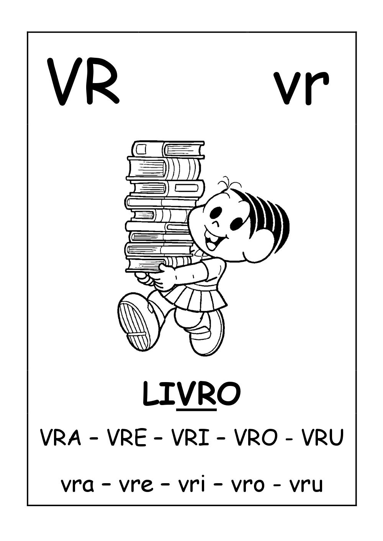 Fichas de Leitura ilustrada da Turma da Mônica