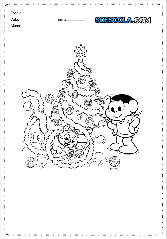 Imagens de Natal para colorir