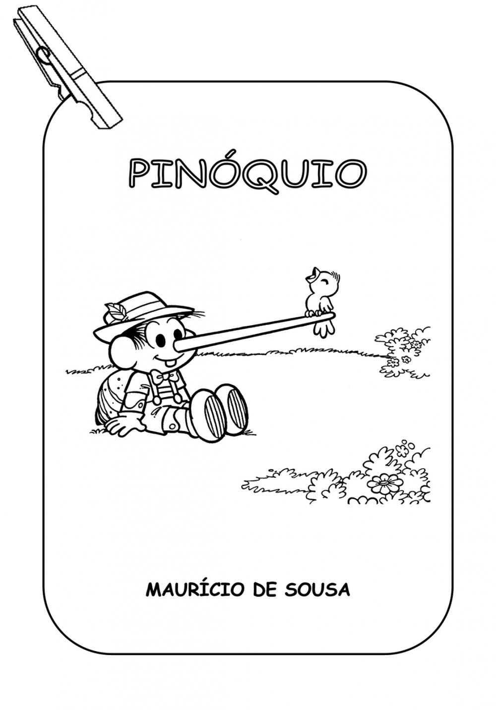 Varal de História do Pinóquio