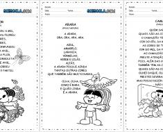 Textos para leitura infantil