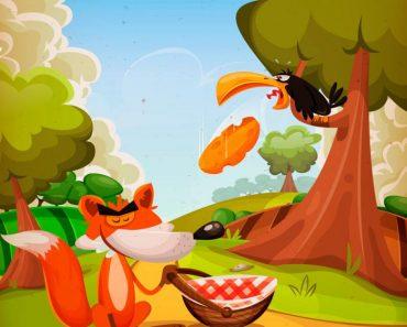 O corvo e a raposa
